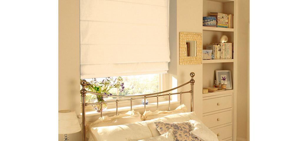 Rolety Deco Sun sypialnia
