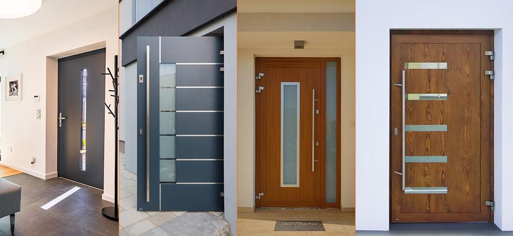Nowoczesne drzwi zewnętrzne Krispol kolekcja Solano