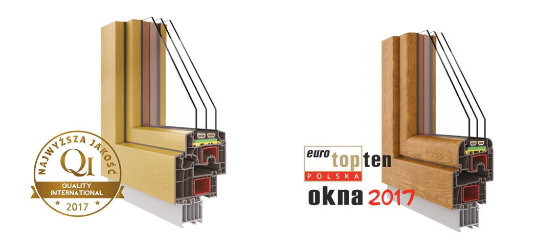 Okna Krispol najwyższa jakość Quality International 2017 i Euro Top Ten Polska Okna 2017