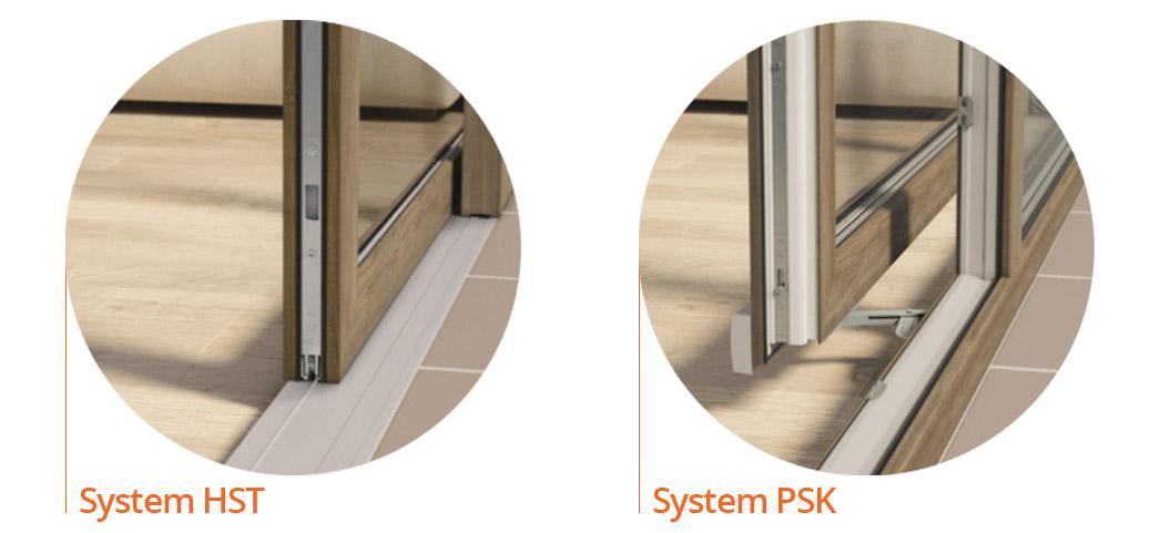 Systemy otwierania okien Krispol HST i PSK