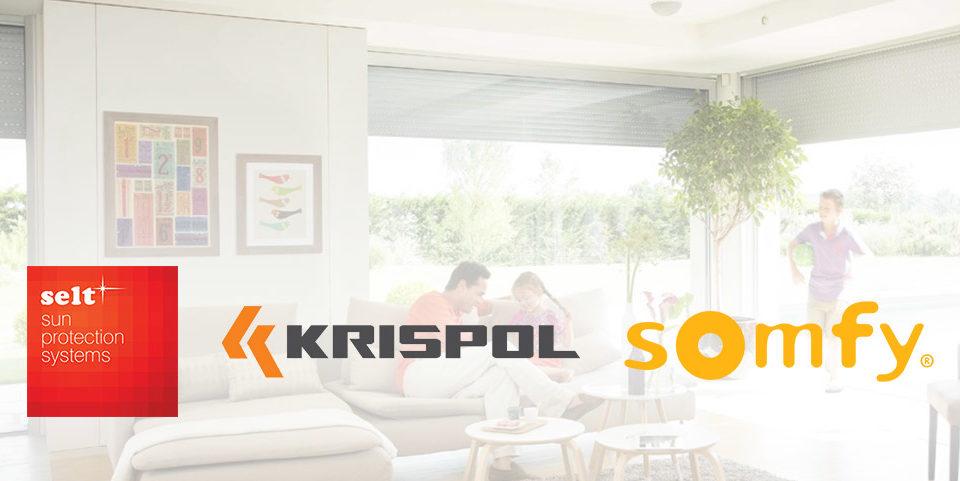 Rolety zewnętrzne Krispol. Selt i Somfy